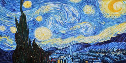 Backdrops: Van Gogh 2 Starry Night