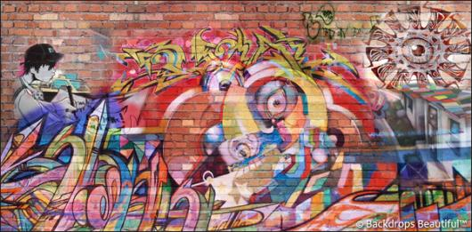 Backdrops: Graffiti 6