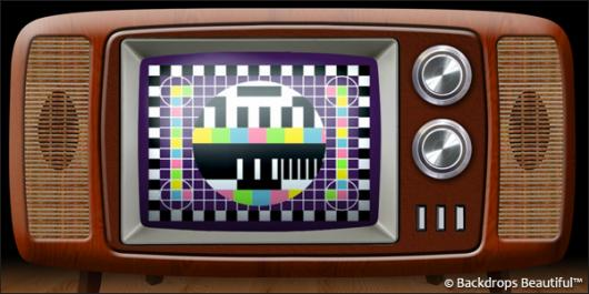 Backdrops: Television 2 Retro
