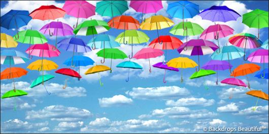 Backdrops: Umbrellas 2