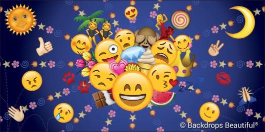 Backdrops: Emojis 3