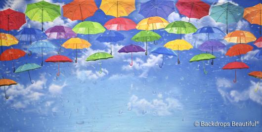 Backdrops: Umbrellas 4 Rain