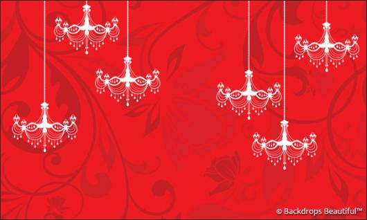 Backdrops: Chandeliers 1
