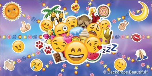 Backdrops: Emojis 2