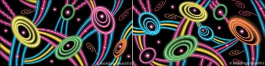 Backdrops: Neon Lights  7 Panel (Alt View)