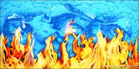 Backdrops: Fire and Ice 3A
