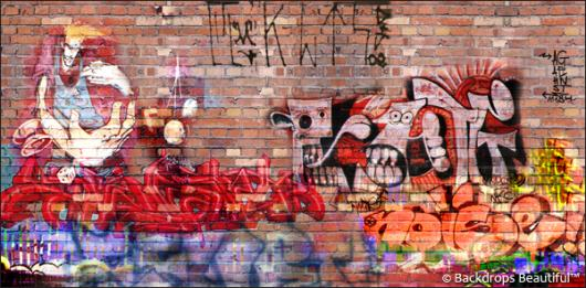 Backdrops: Graffiti 2