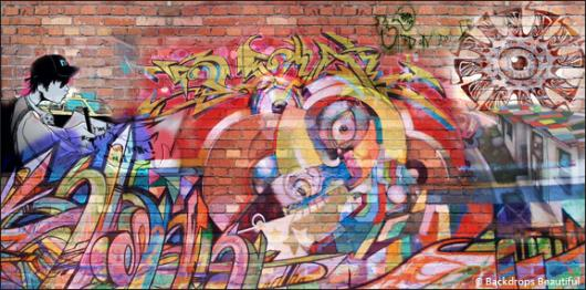 Backdrops: Graffiti 4