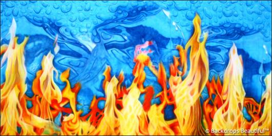 Backdrops: Fire and Ice 3B