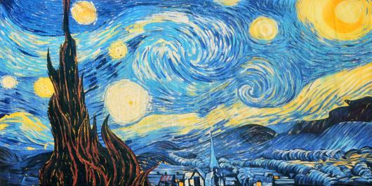 Backdrops: Van Gogh 1 Starry Night