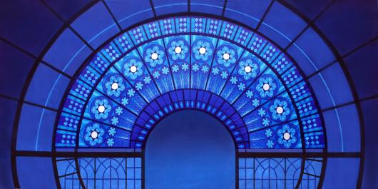 Backdrops: Stained Glass 1