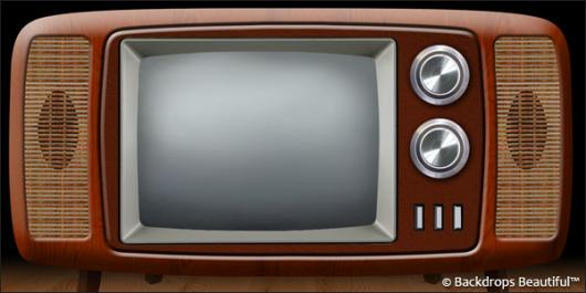 Backdrops: Television 1 Retro