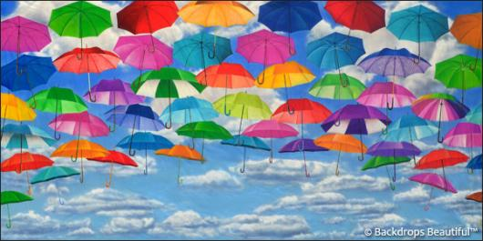 Backdrops: Umbrellas 1