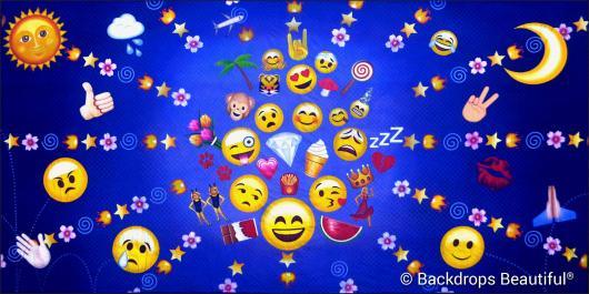 Backdrops: Emojis 1