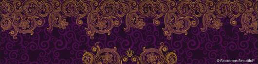 Backdrops: Swirls 3 Gold