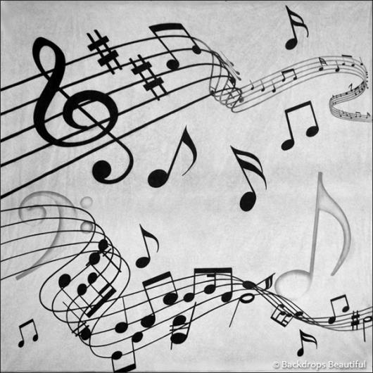 Backdrops: Musical Notes 2