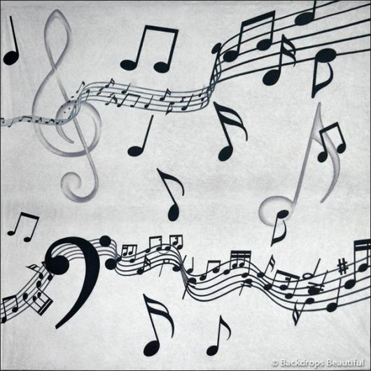 Backdrops: Musical Notes 3
