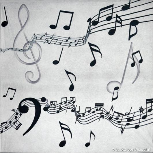 Backdrops: Musical Notes 3