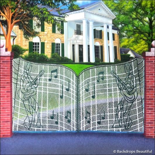 Backdrops: Graceland 1