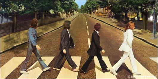 Backdrops: Beatles 5 Abbey