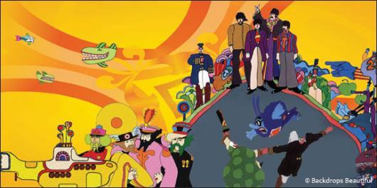 Backdrops: Beatles 4