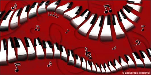 Backdrops: Piano 1B