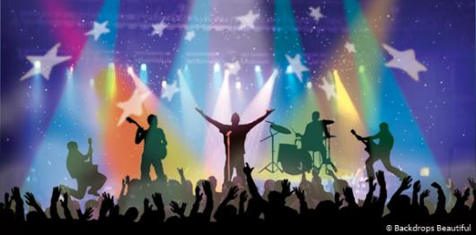 Backdrops: Rock Concert 2B