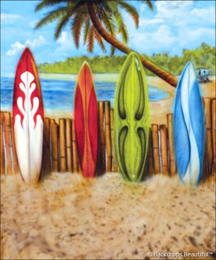 Backdrops: Beach Boards 3