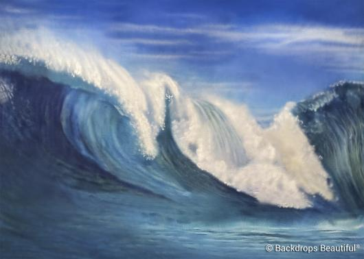 Backdrops: Ocean Wave 2
