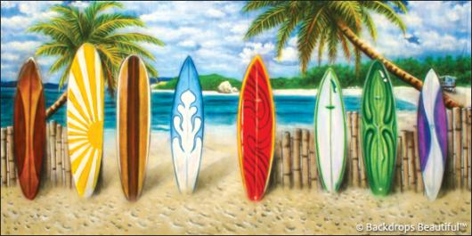 Backdrops: Beach Boards 1
