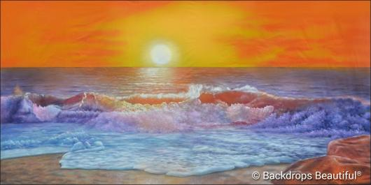 Backdrops: Sunset Beach 11