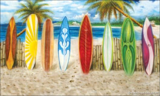 Backdrops: Beach Boards 4