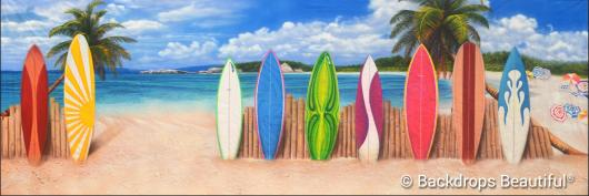 Backdrops: Beach Boards 5