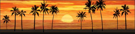 Backdrops: Sunset Beach 9