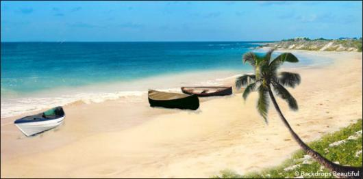 Backdrops: Tropical Beach  5