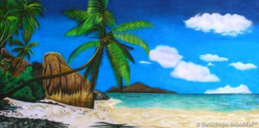 Backdrops: Tropical Beach  9