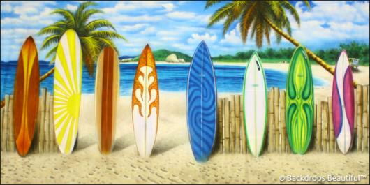 Backdrops: Beach Boards 2