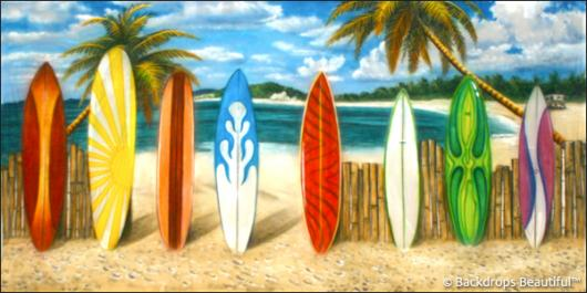 Backdrops: Beach Boards 2B