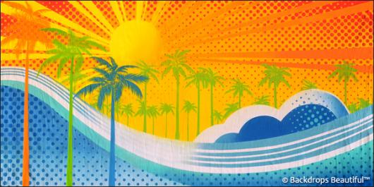 Backdrops: Stylized Beach 1