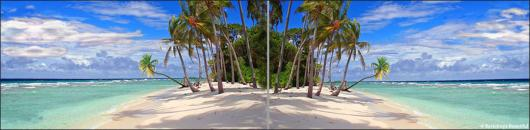 Backdrops: Tropical Beach Panel 2