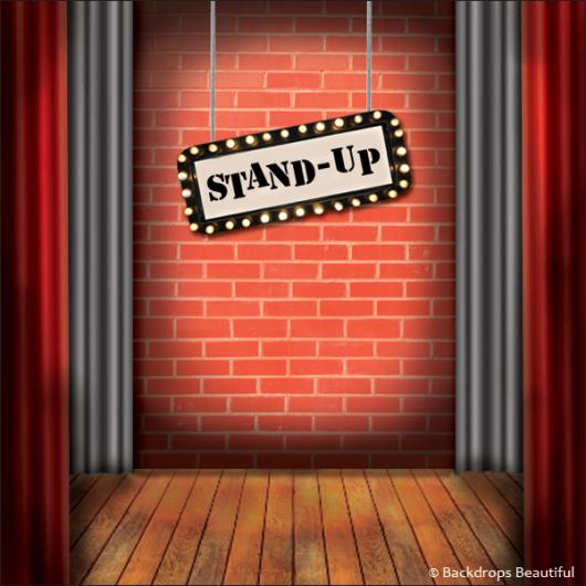 Backdrops: Stage Comedy