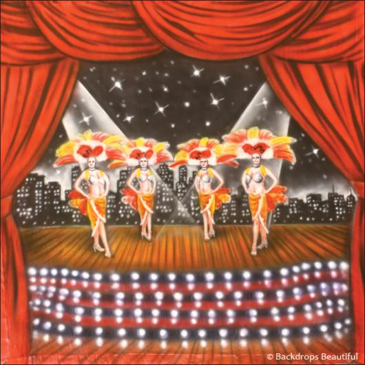 Backdrops: Stage Showgirls 2A
