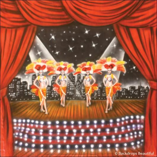 Backdrops: Stage Showgirls 2B