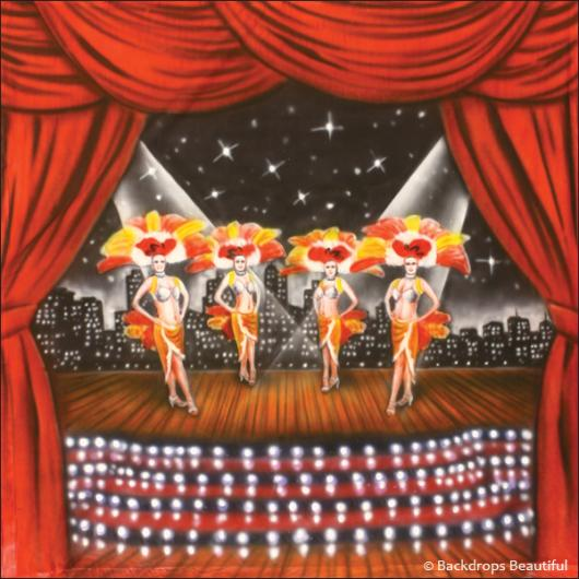 Backdrops: Stage Showgirls 2C