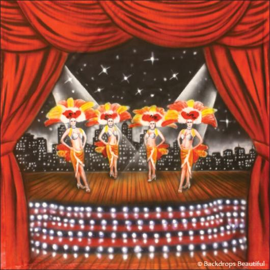 Backdrops: Stage Showgirls 2D
