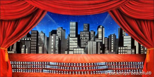 Backdrops: Stage Skyline 2