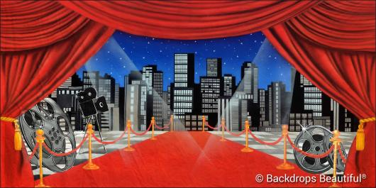 Backdrops: Stage Skyline 3