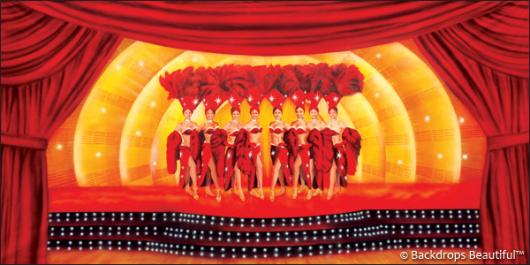 Backdrops: Stage Showgirls 3B