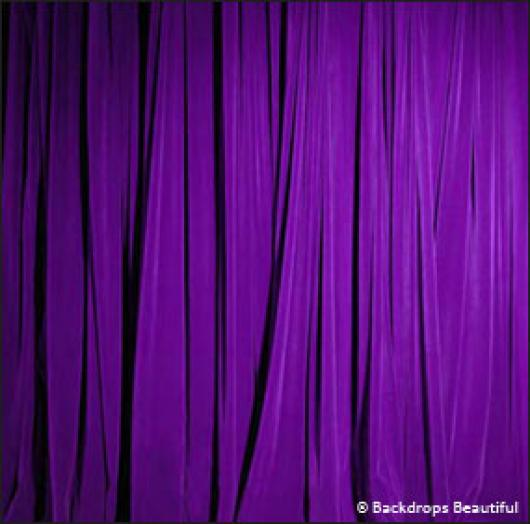 Backdrops: Drapes Purple Half 1