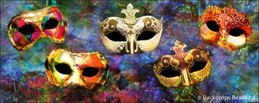 Backdrops: Masks 12B